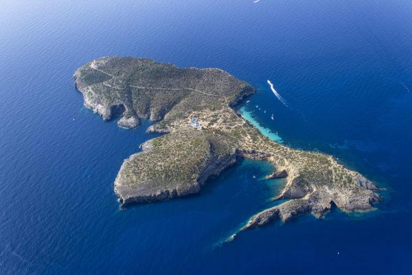 Dekadenter kann man nicht feien. Eine der schönsten Privatinseln im Mittelmeer