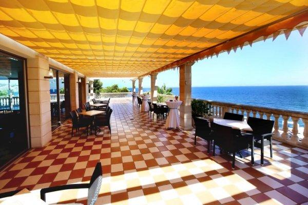 Auch als Lounge Area könnt ihr die Terrasse mit wunderschönem Ausblick nutzen...