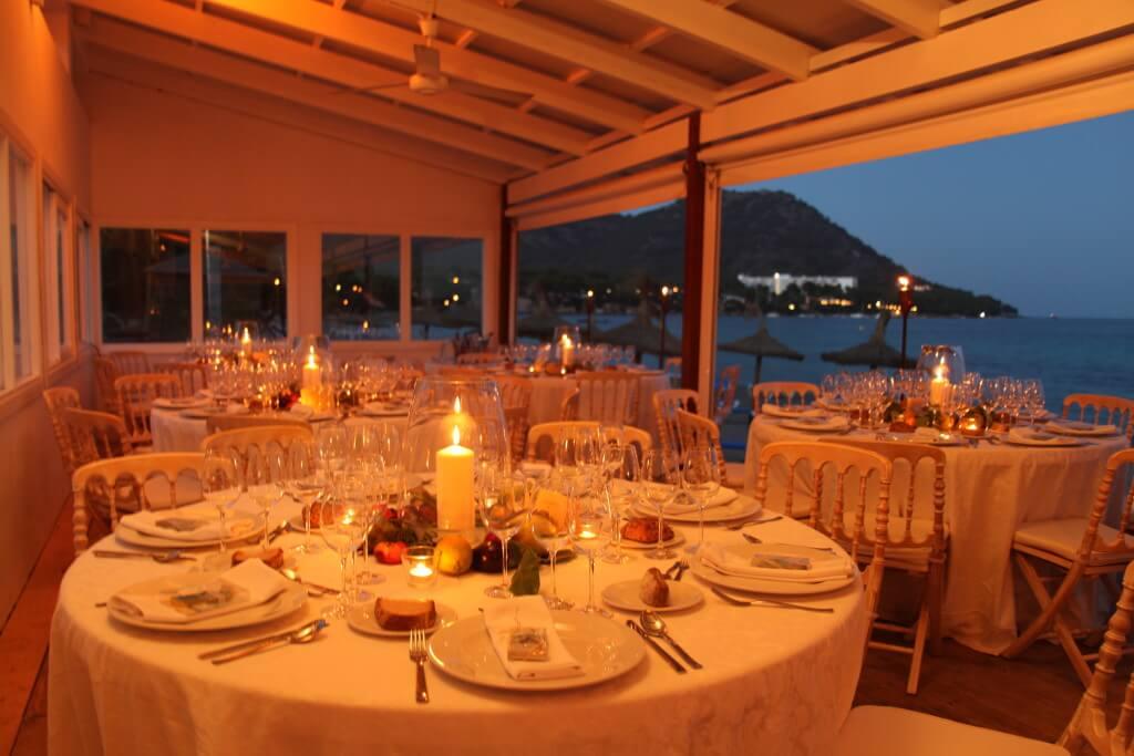 Hochzeitsdinner auf Mallorca