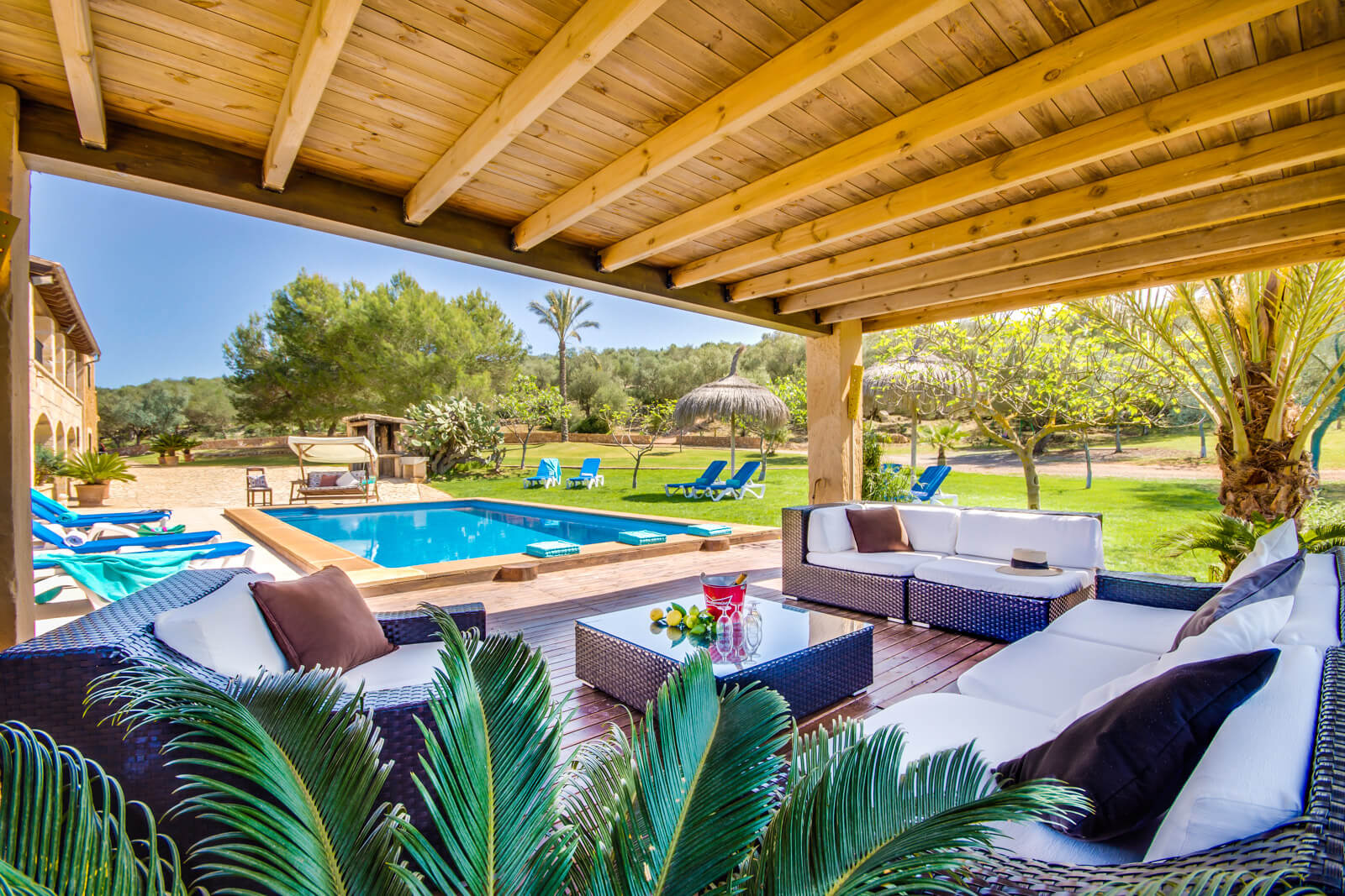 Finca son cifre heiraten und feiern auf mallorca for Finca mit pool