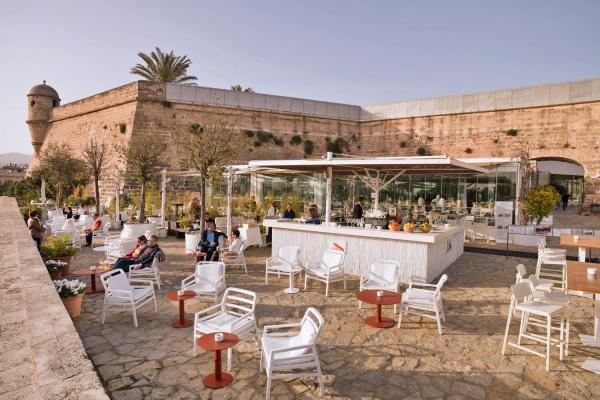 Erstklassige Fruchtcocktails und kühle Drinks unter der Sonne Mallorcas genießen, dazu gibt es den einmaligen Blick auf den Yachthafen von Palma - Viva la Vida!