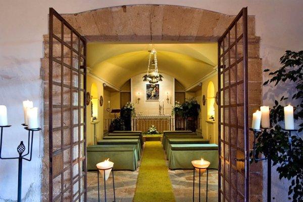 Auch eine Kappelle für die Zeremonie gehört zum Anwesen der Finca El Patio