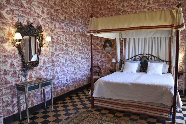 Die Übernachtung für das Brautpaar in dieser Suite ist im Mietpreis inklusive