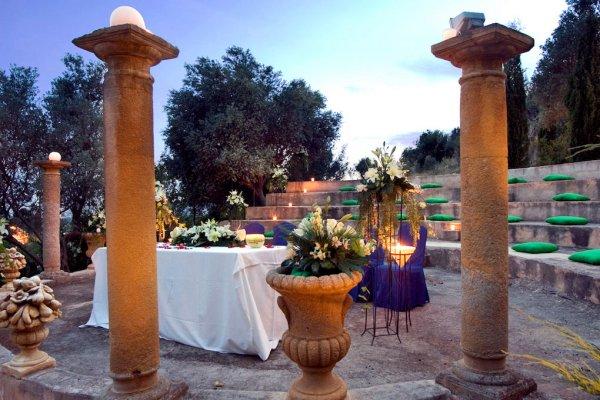 Neben der Kappelle ist dies unser Lieblingsplatz für die freie Zeremonie auf der Finca El Patio