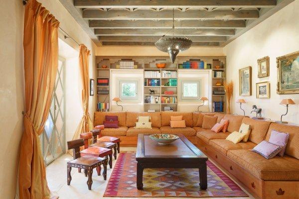 Die Villa Arabica legt großen Wert auf ein gemütliches Beisammensein in großer Runde