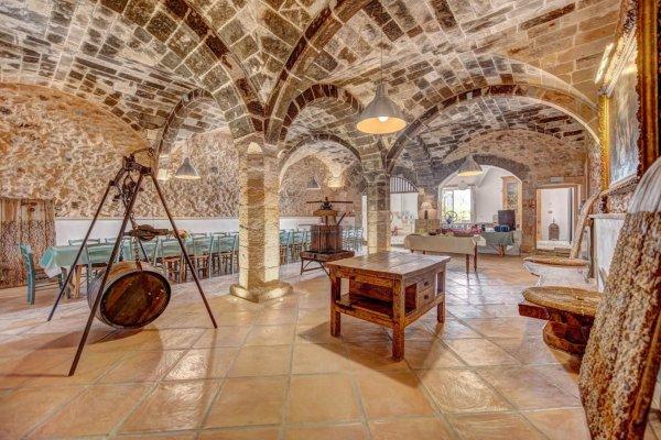 Das authentische Ambiente des ehemaligen Wasserspeichers