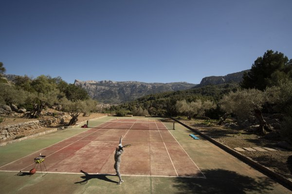 Play it like Nadal - die Finca Tosca bietet viele Möglichkeiten und Services...