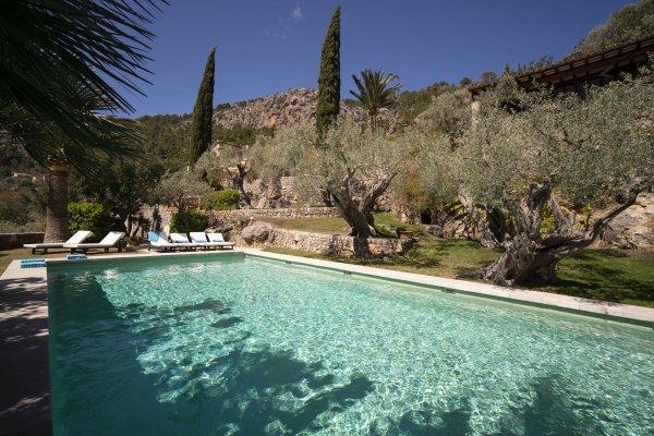 Idylle pur im 16 x 6,5 Meter Salzwasser Pool • Einfach nur zum eintauchen