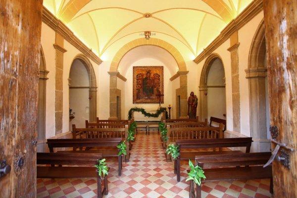 Die Kapelle im Pueblo