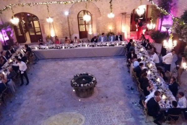 Romantisches Gala Dinner